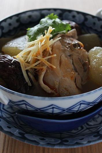 鶏と冬瓜の煮込み