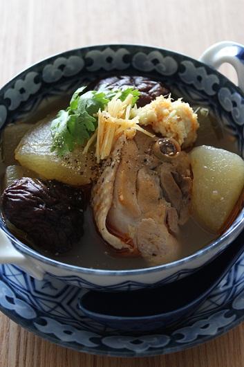 鶏と冬瓜の煮込み4