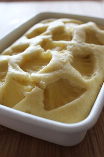 パイナップルココナッツ蒸しパン1