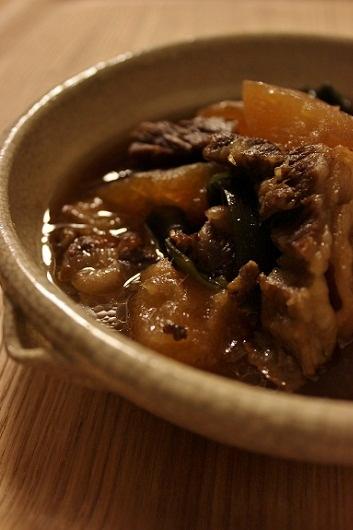 牛バラ冬瓜煮1