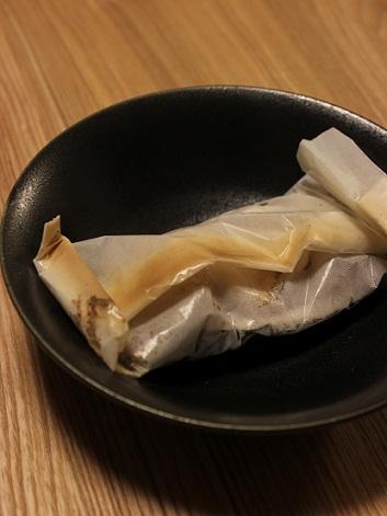 鯛とマツタケの紙包み焼き2