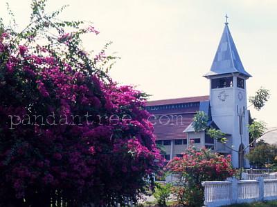フローレス島の教会