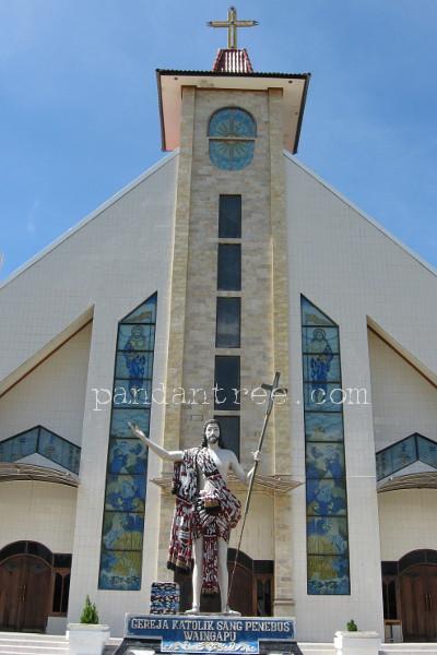 スンバ島の教会