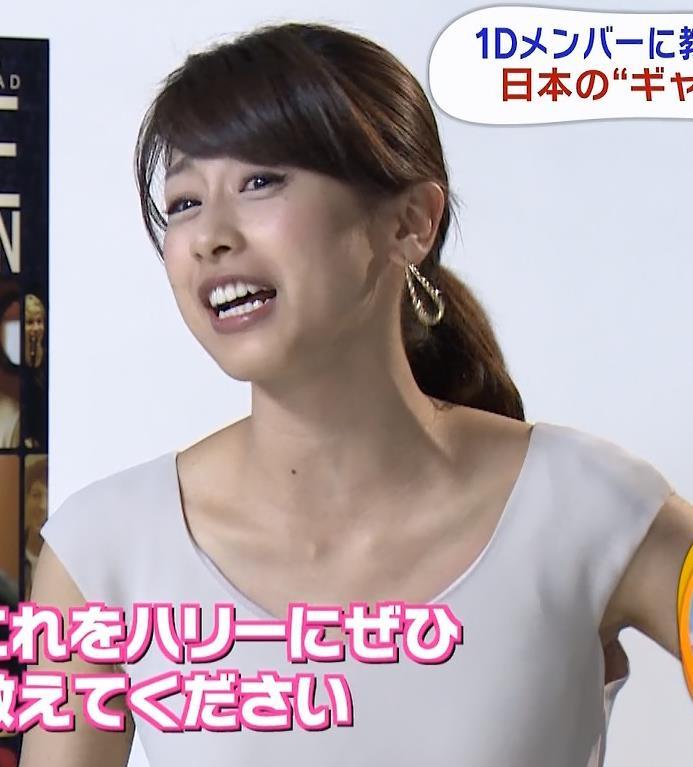 加藤綾子 ヌードっぽい薄着キャプ画像(エロ・アイコラ画像)