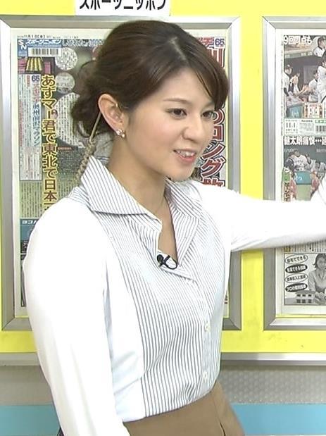 遠藤玲子 シャツが少しはだけてる (20131102)キャプ画像(エロ・アイコラ画像)