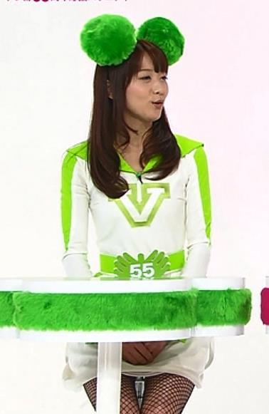 森葉子 ミニスカ美脚キャプ画像(エロ・アイコラ画像)