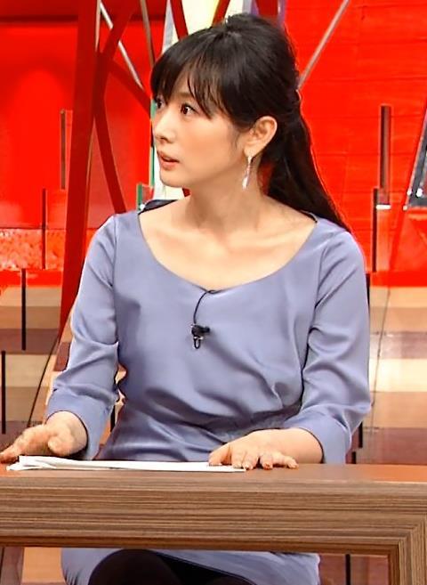 高島彩 黒パンストキャプ画像(エロ・アイコラ画像)