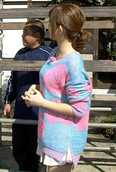 菊地亜美 横乳キャプ画像(エロ・アイコラ画像)