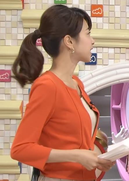 加藤綾子  ジャケット横乳がエロいキャプ画像(エロ・アイコラ画像)