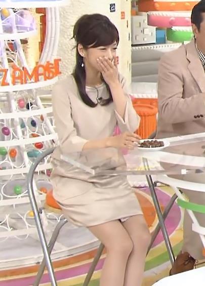 生野陽子 ミニスカで座って太もも露出キャプ画像(エロ・アイコラ画像)