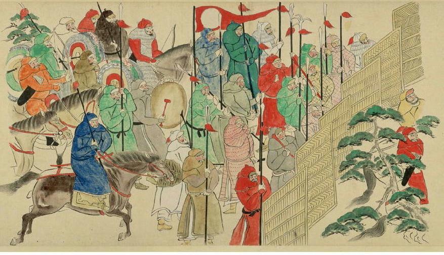 蒙古軍の銅鑼