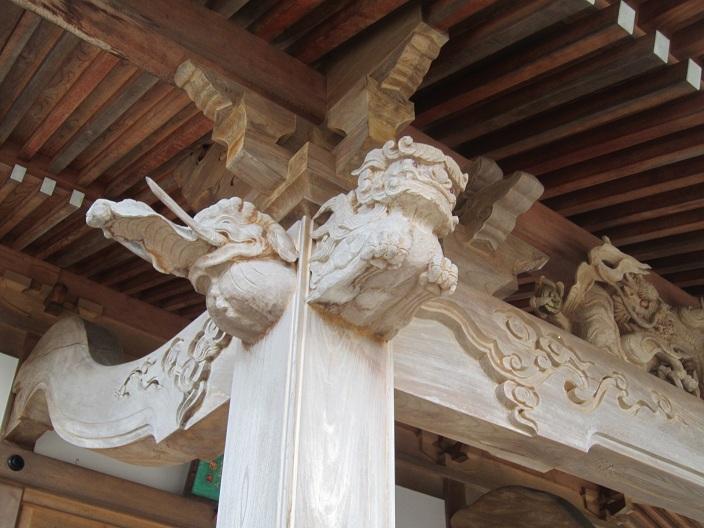 根本中堂彫刻1