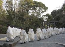皇霊祭遥拝