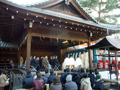 八坂神社の大祓