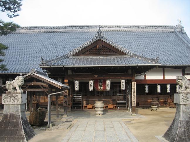 大願寺と狛犬