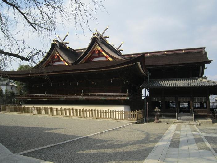 吉備津神社本殿拝殿
