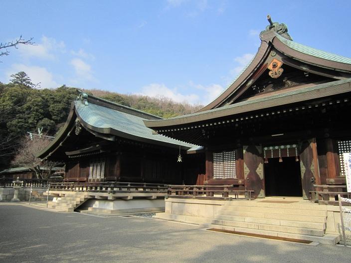 吉備津彦神社社殿