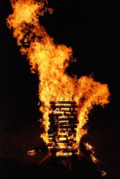 大文字の炎1