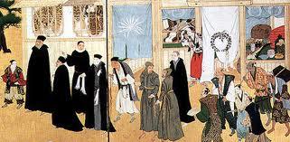 イエズス会士とフランシスコ会士