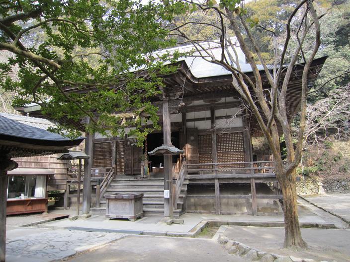 神峰山寺本堂