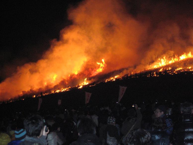 若草山の山焼き 083