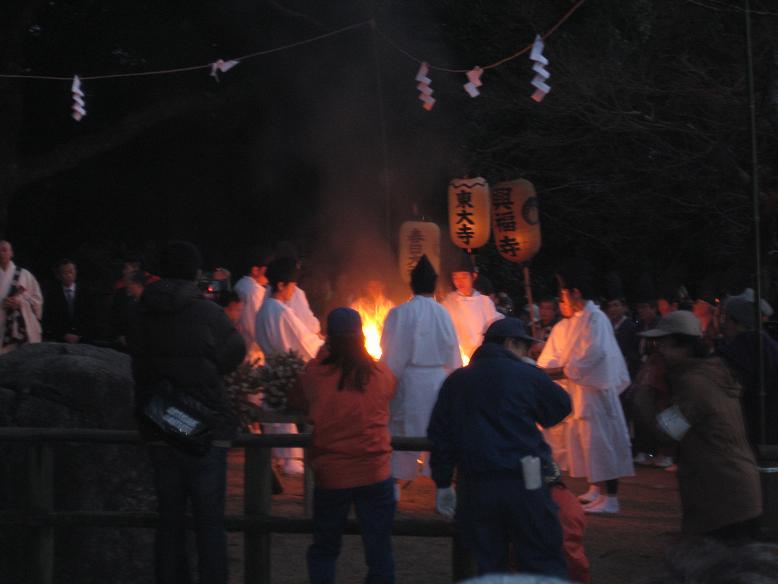 若草山の山焼き 049