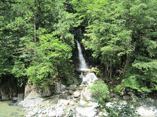 阿寺渓谷6段の瀧