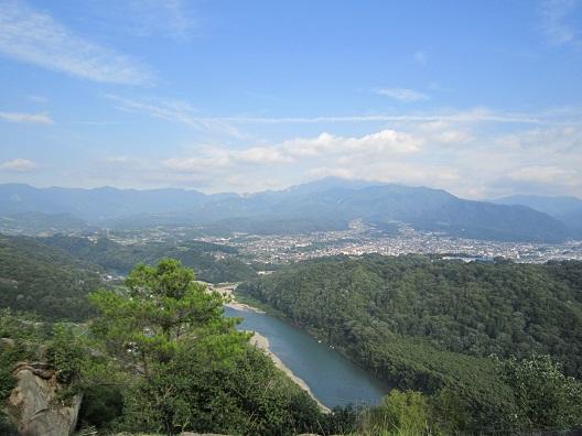 苗木城からの眺め