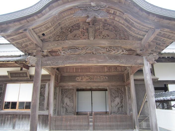 箸蔵寺方丈の装飾