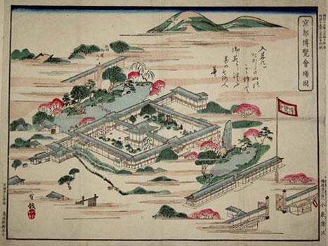京都博覧会場図