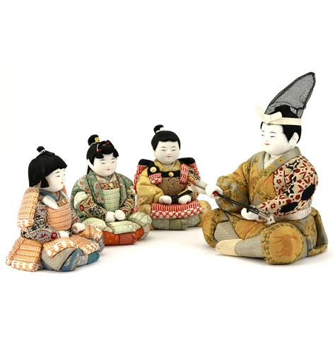 三本の矢人形