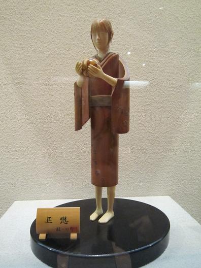 越前竹人形作品