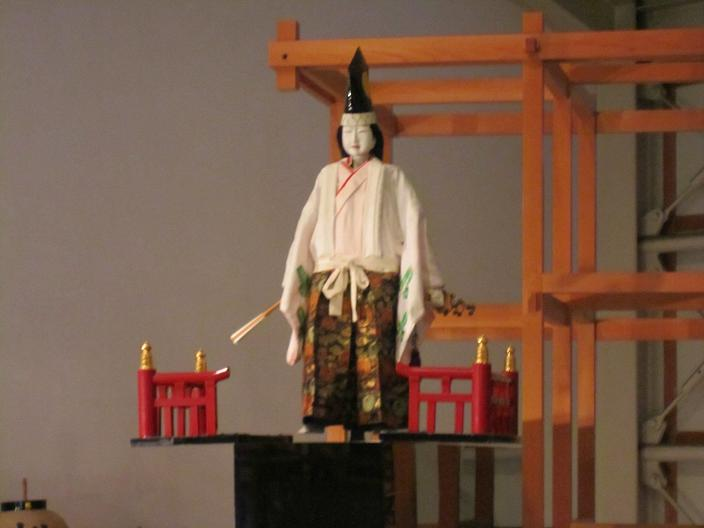古川まつりからくり人形1