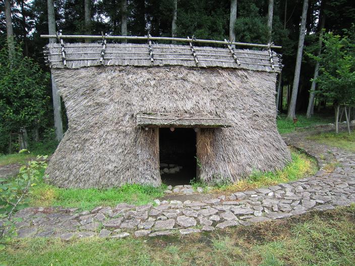 縄文式竪穴住居