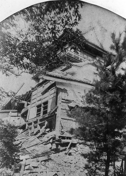 濃尾地震と犬山城