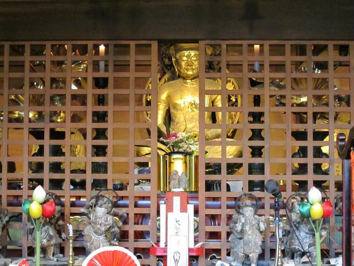 篠山大国寺本堂より