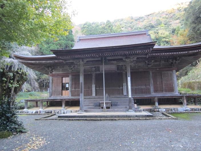 羽賀寺本堂