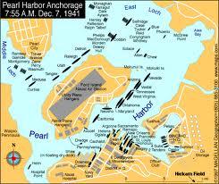 真珠湾地図