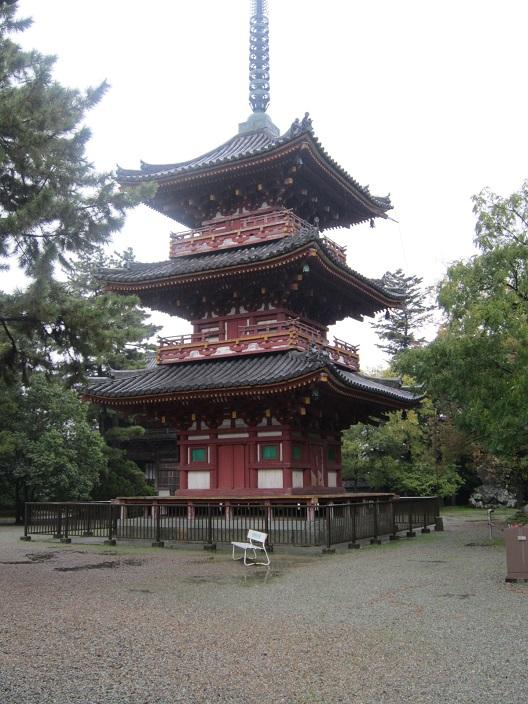 鶴林寺三重塔