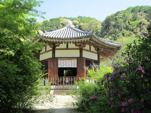 栄山寺八角堂