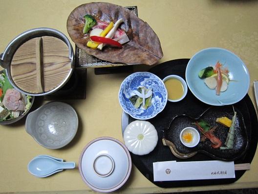 竹林院夕食
