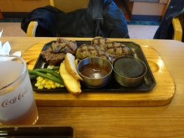 出張先の茨城でのお昼ごはん